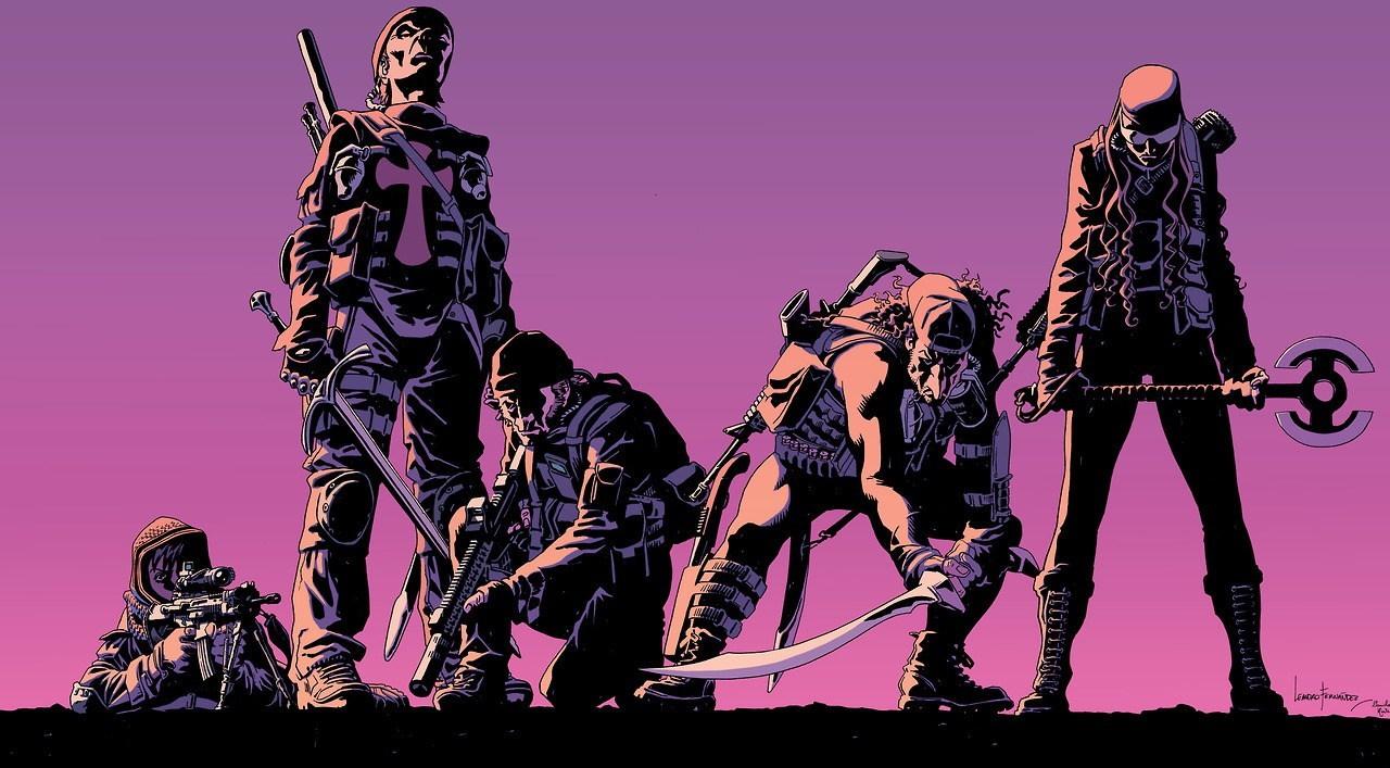 Мнение окомиксе «Старая гвардия». Очем будет боевик сШарлиз Терон