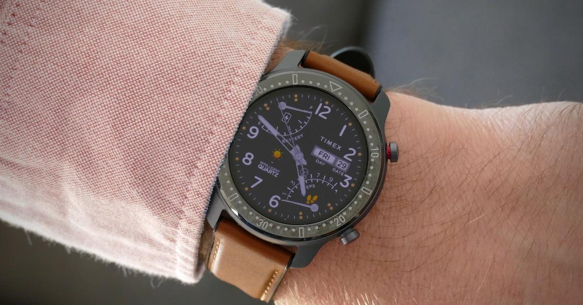 Смарт-часы Timex Metropolitan сделаны впартнерстве сHuami иработают 14 дней без подзарядки