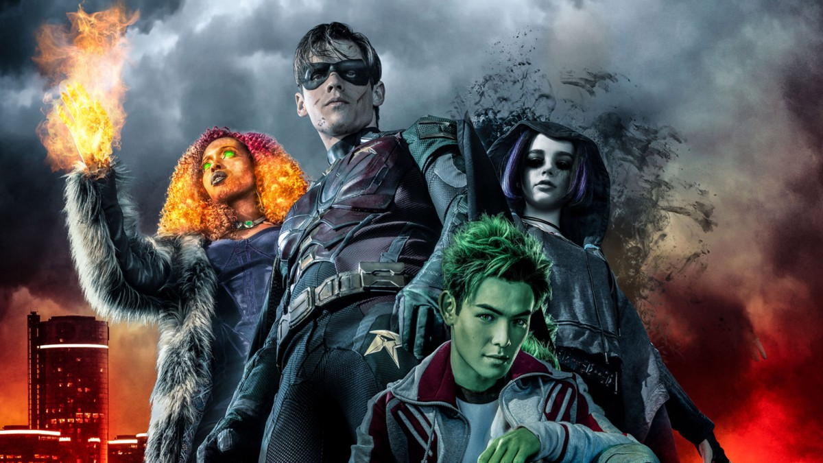 Начались съемки 3 сезона сериала «Титаны»