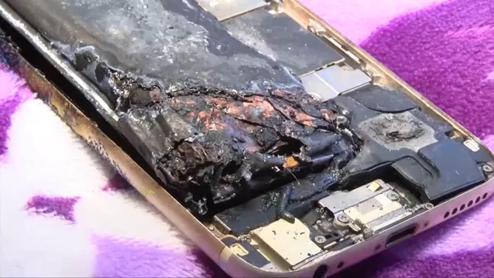 ВКитае сгорел грузовик с20 тысячами iPhone11