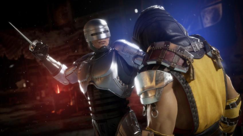 Знакомство сРобокопом. Вышел новый трейлер Mortal Kombat 11: Aftermath
