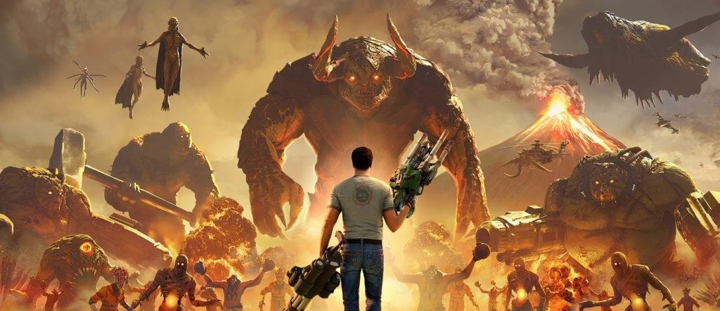 Критики средне оценили Serious Sam4