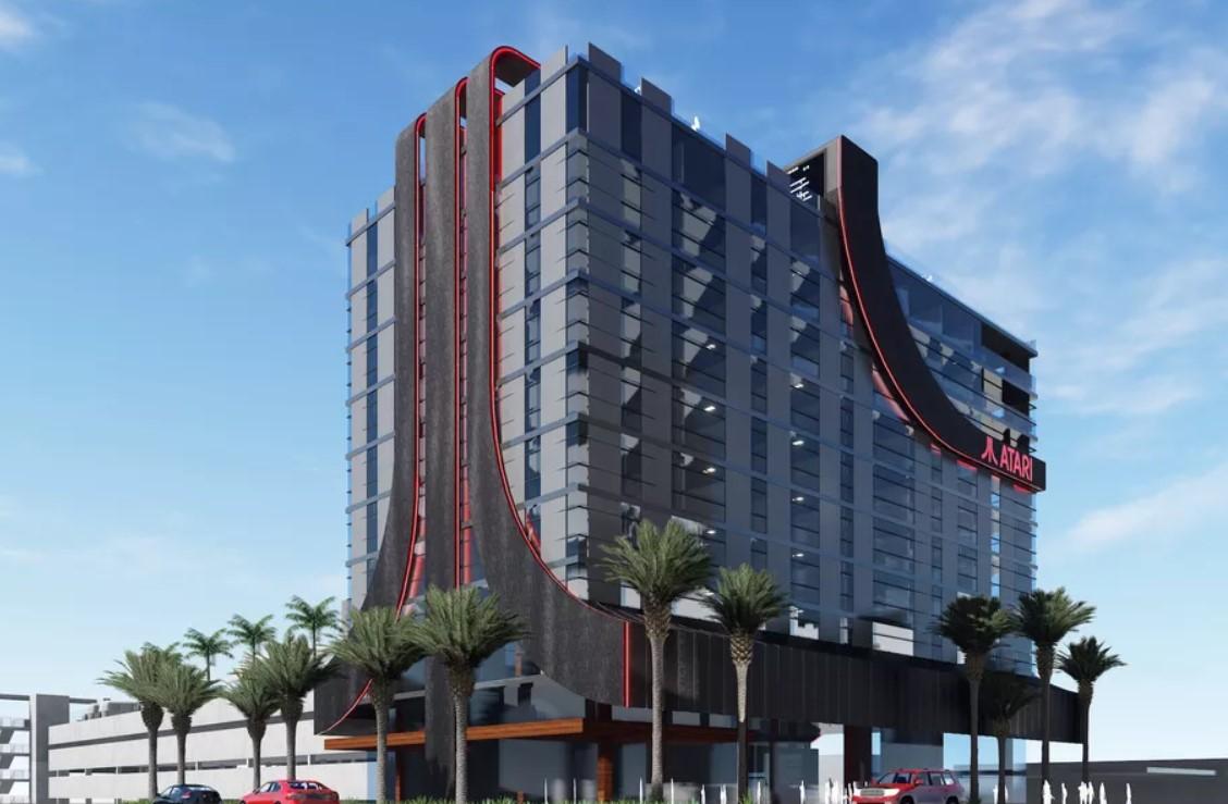 ВСША построят отели Atari. Это идеальное место для геймеров идетей