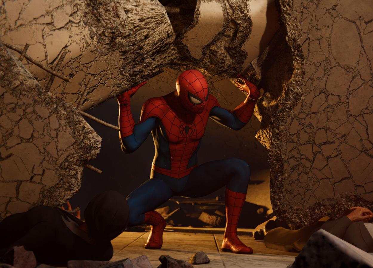 20 изумительных скриншотов Marvel's Spider-Man для PS4 в4K