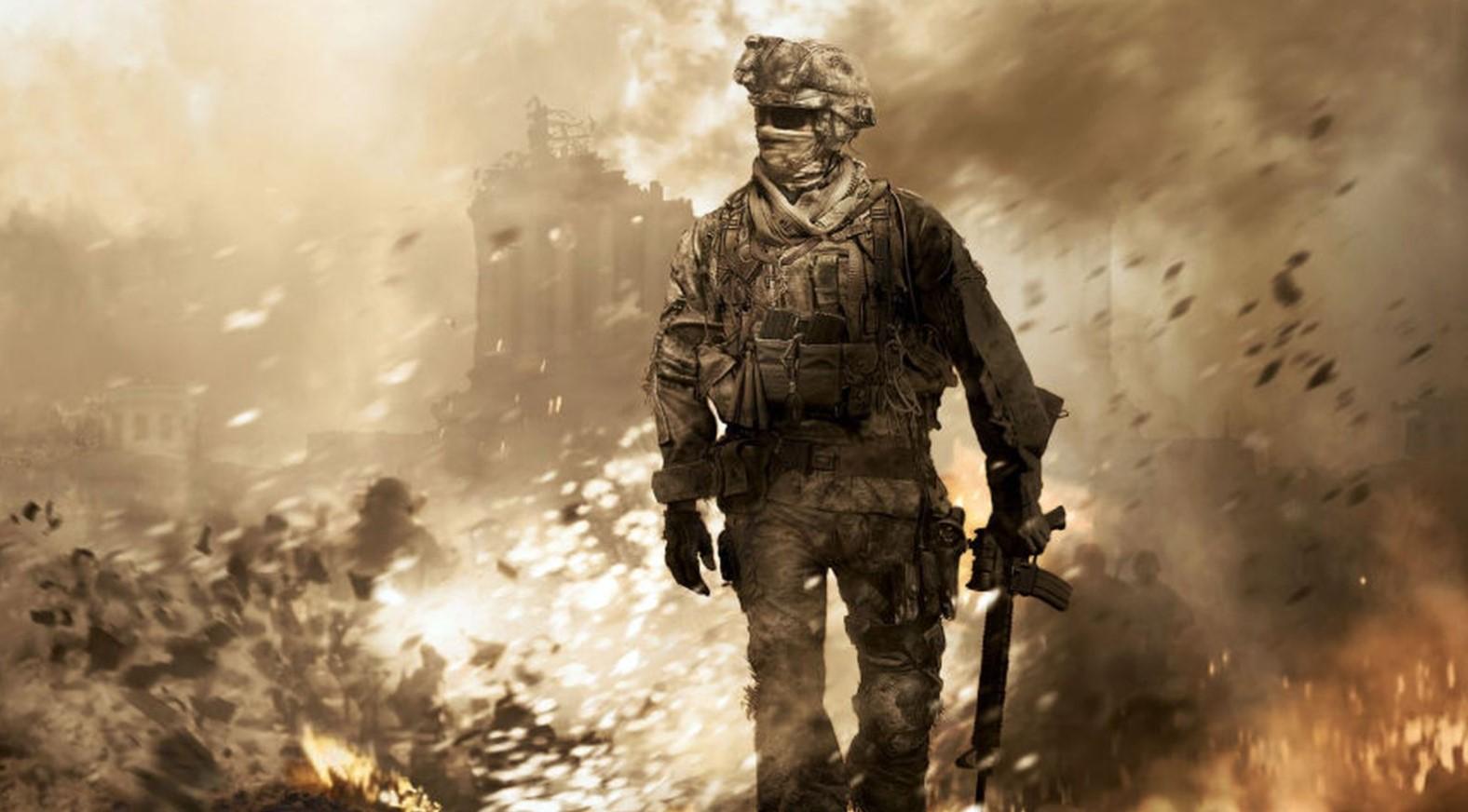Ремастер Call ofDuty: Modern Warfare 2 вышел наPS4