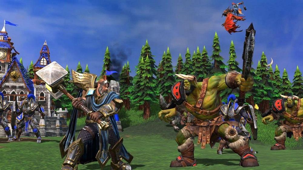 Значительную часть работы над Warcraft III: Reforged выполнила сторонняя студия