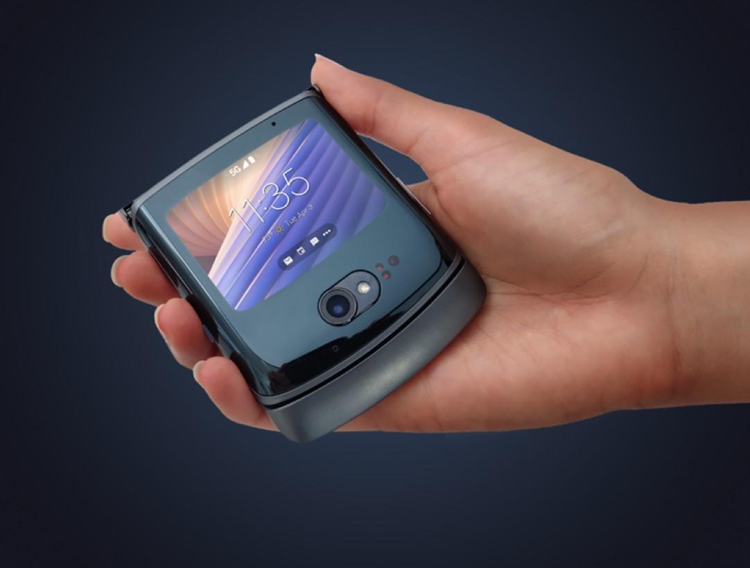 ВРоссии представили флагманскую «раскладушку» Motorola RAZR 5G