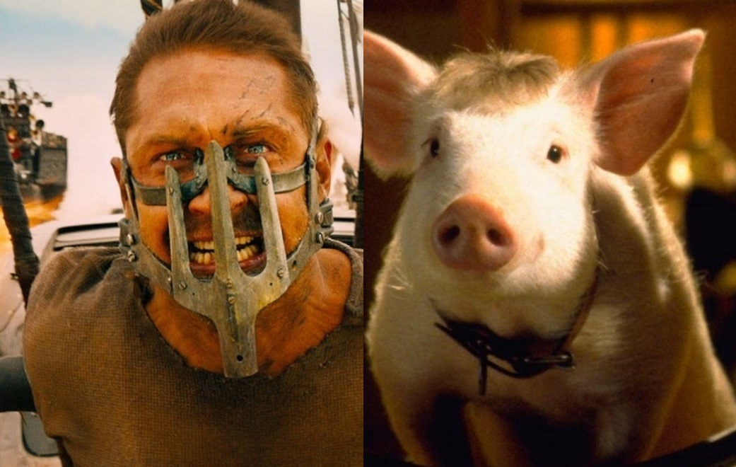 Режиссер «Безумного Макса» сравнил Тома Харди иХита Леджера сживотными из«Бэйба»