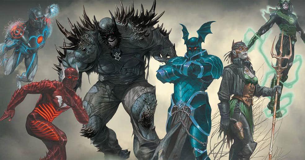 ВDark Nights: Metal мог появиться злой Бэтмен-Каратель и даже Бэтмен, слившийся с Готэм-сити!
