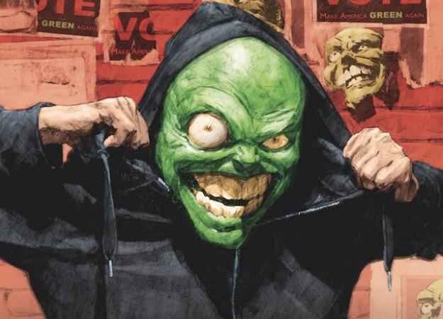 Классический образ Маски вернется вновом комиксе слозунгом «Make America Green Again»