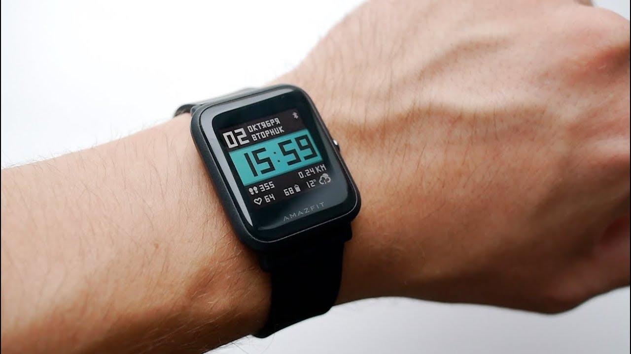 Смарт-часы Huami Amazfit BIP Lite 1S работают месяц без подзарядки