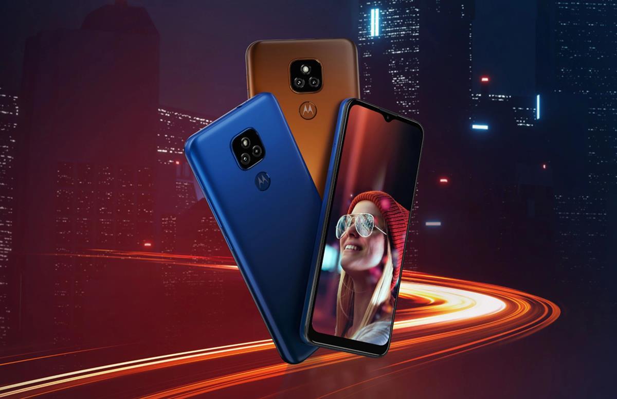 ВРоссию приехал бюджетный смартфон Moto E7 Plus