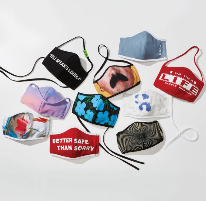 Йоко Оно, Вирджил Абло идругие художники выпустили защитные маски