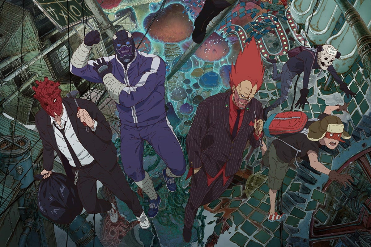 Рецензия напервый сезон аниме «Дорохедоро». Магия, море насилия ибезумные персонажи