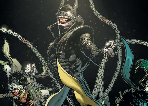 Злой Бэтмен-Джокер изТемной Мультивселенной получил свой комикс!