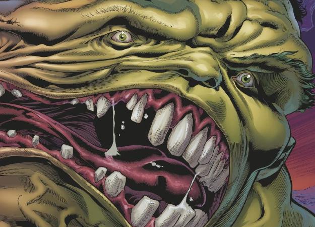 Самую странную серию альтернативных обложек Marvel посвятила трансформации Халка