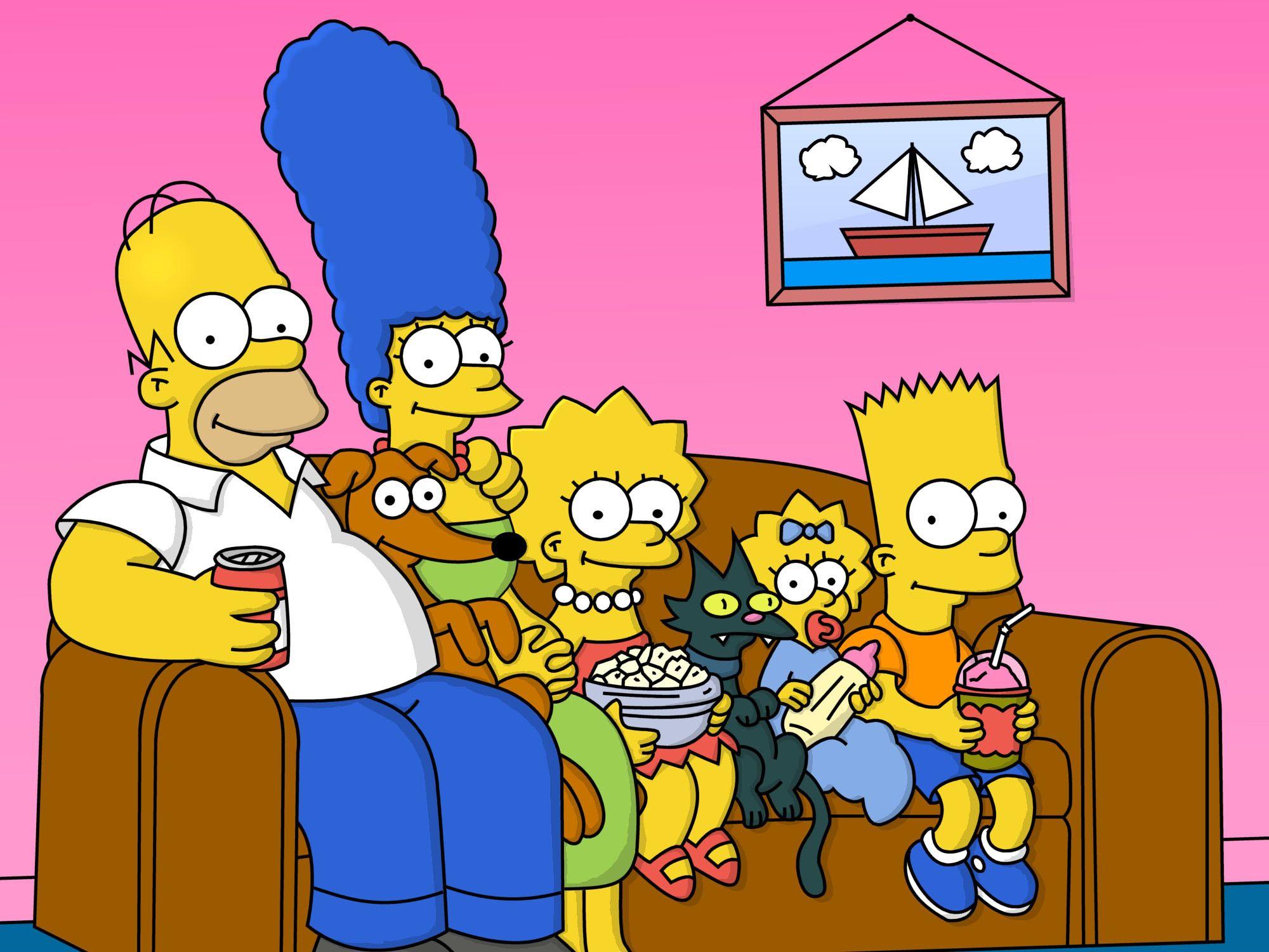 Комик воссоздал вступление «Симпсонов», используя только стоковые видео