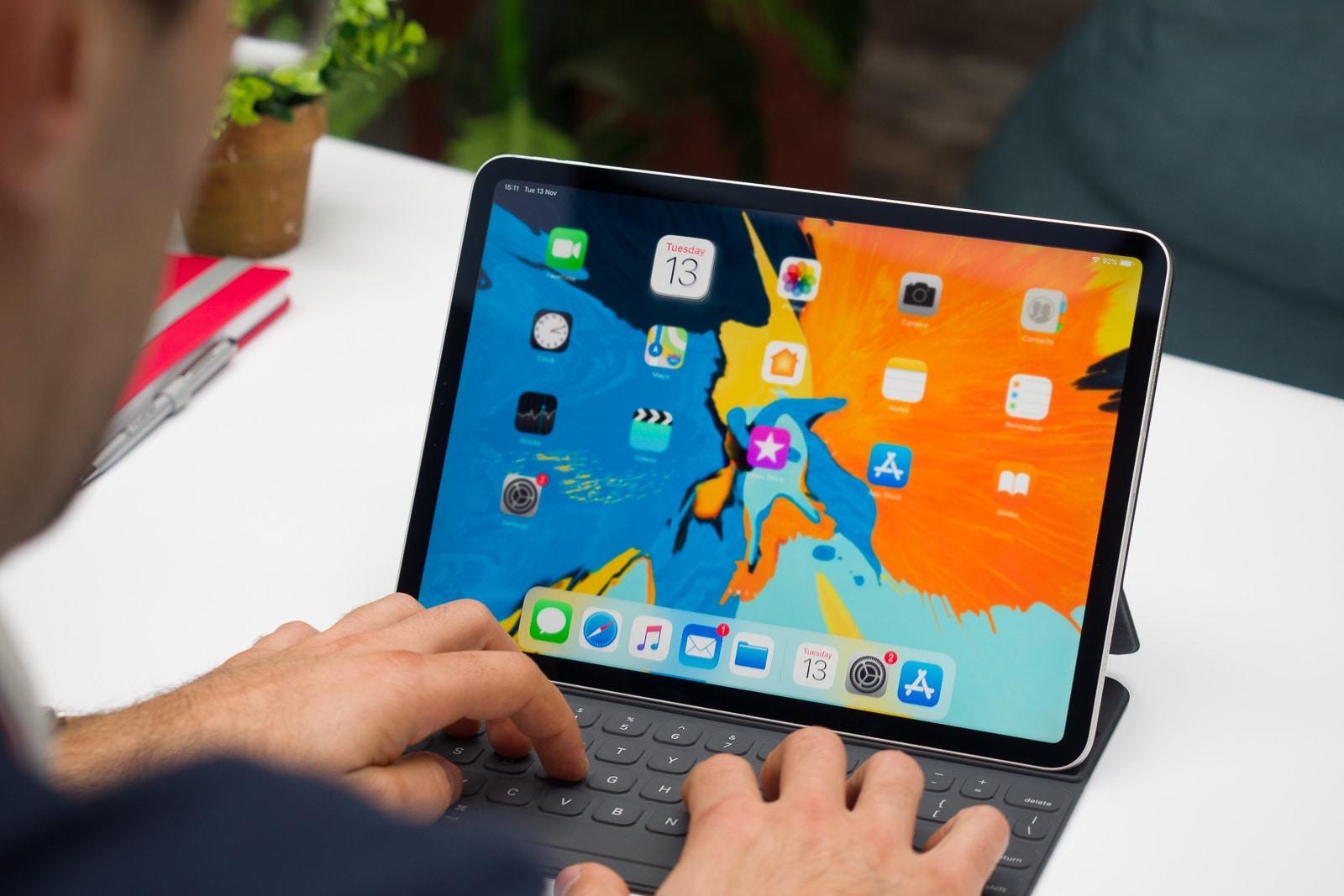 СМИ: клавиатура для нового iPad Pro получит сенсорную панель