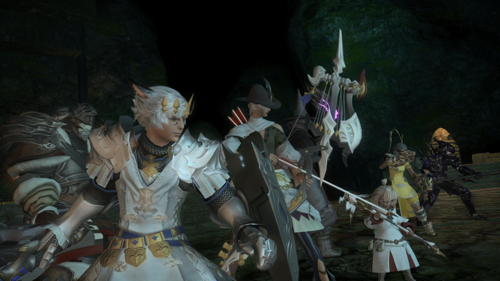 В Final Fantasy XIV прошел масштабный марш в честь погибшего геймера