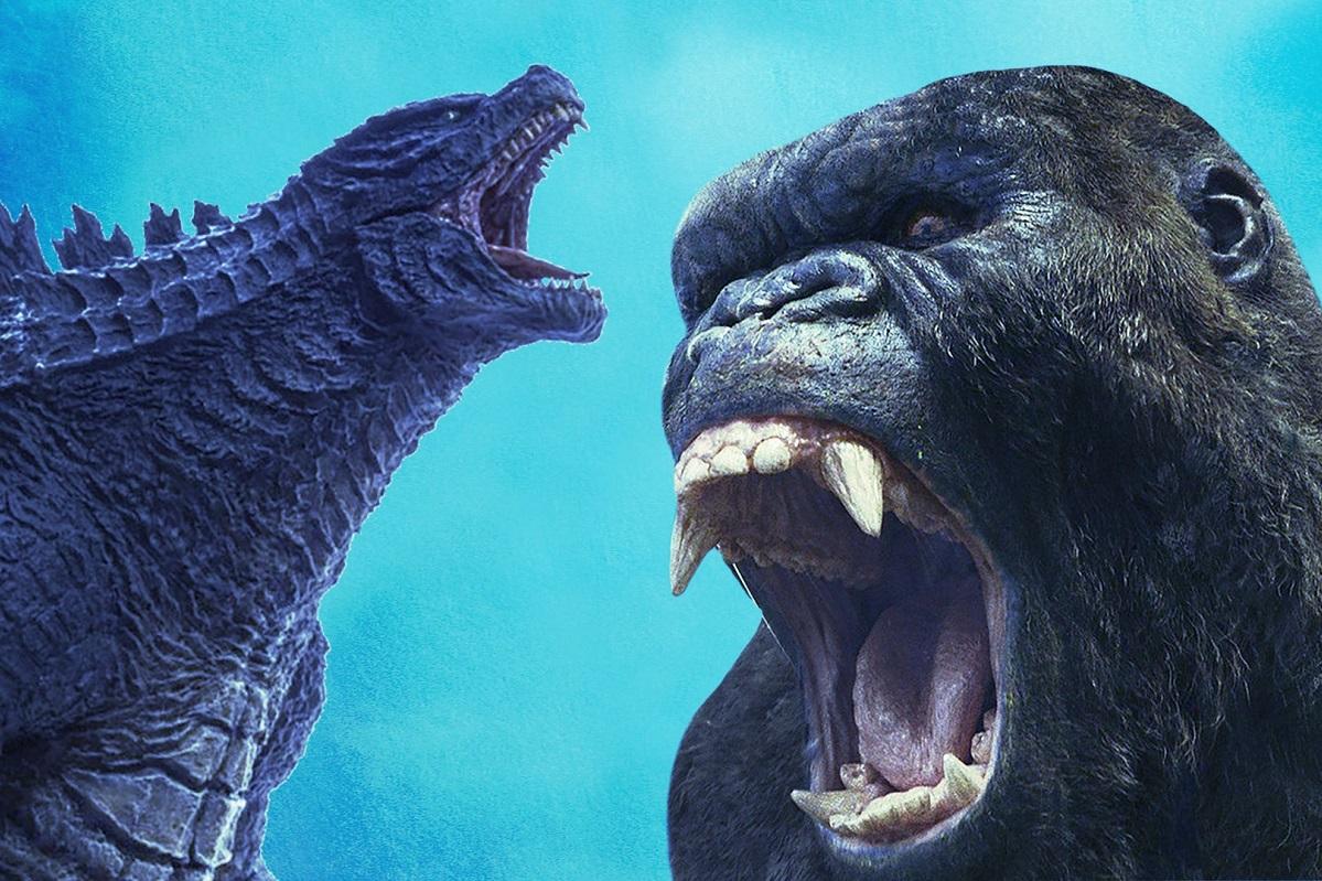 Накадрах «Годзиллы против Конга» можно оценить размеры монстров