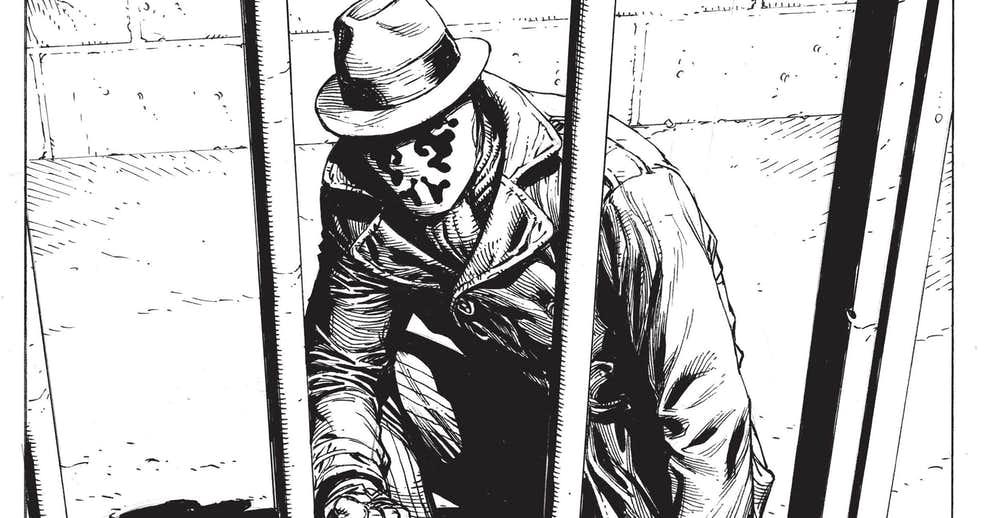 Роршах из«Хранителей» без маски нановом тизере Doomsday Clock