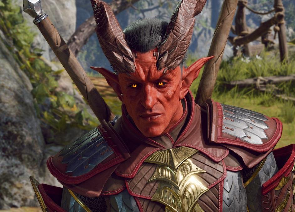 Открывающий синематик ичас геймплея Baldur's Gate III