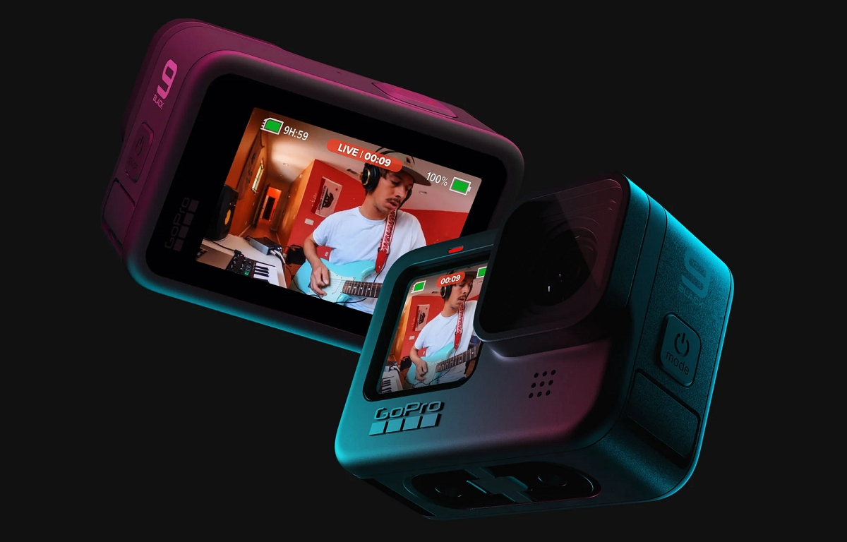 GoPro представила экшн-камеру Hero 9 Black