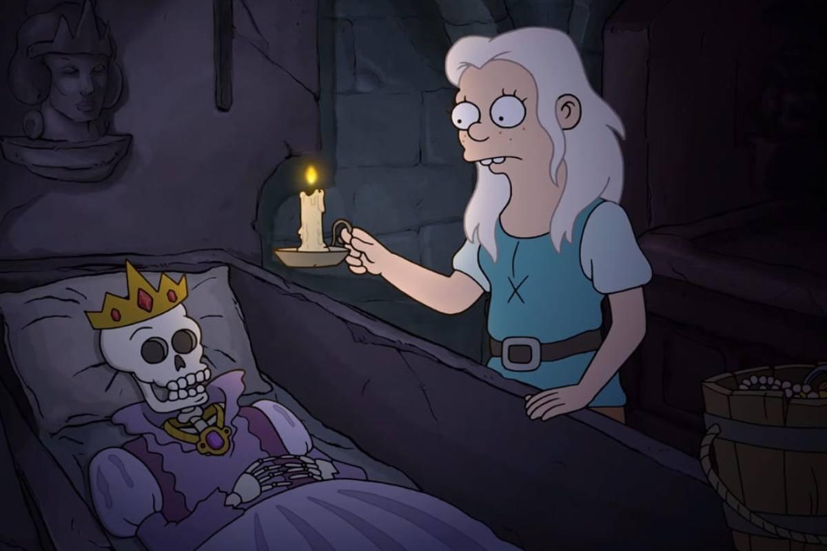 Netflix показал небольшой трейлер третьей части «Разочарования» отавтора «Симпсонов»