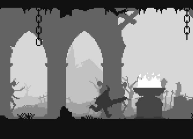 «Черный, белый и кровь»: Unworthy — самый минималистичный аналог Dark Souls в мире