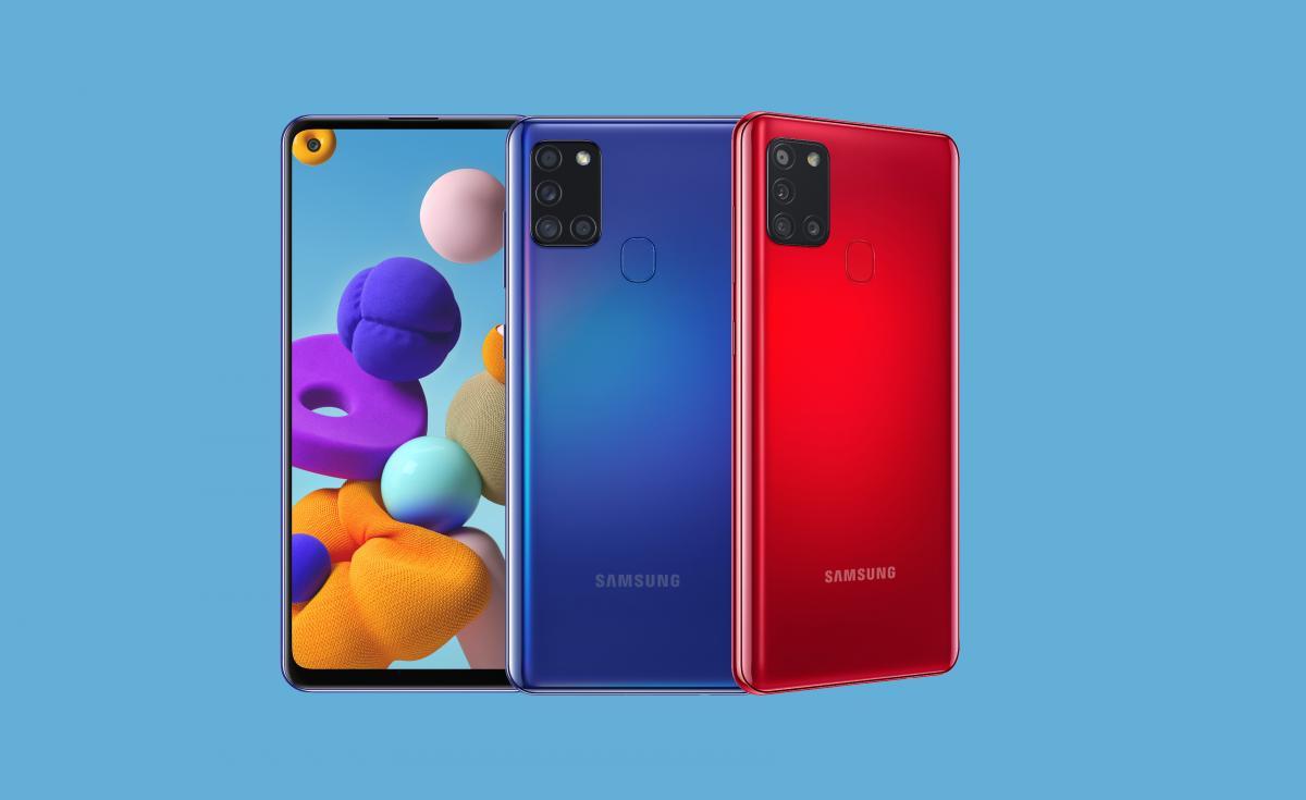 ВРоссию приехал смартфон Samsung Galaxy A21s— батарея на5000 мАч ицена от15990 рублей