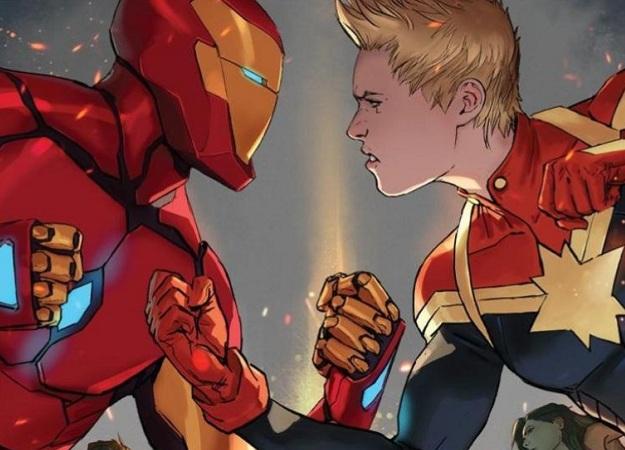 Умная фанатская теория предполагает, что Тони Старк уже знает осуществовании Капитана Марвел в MCU
