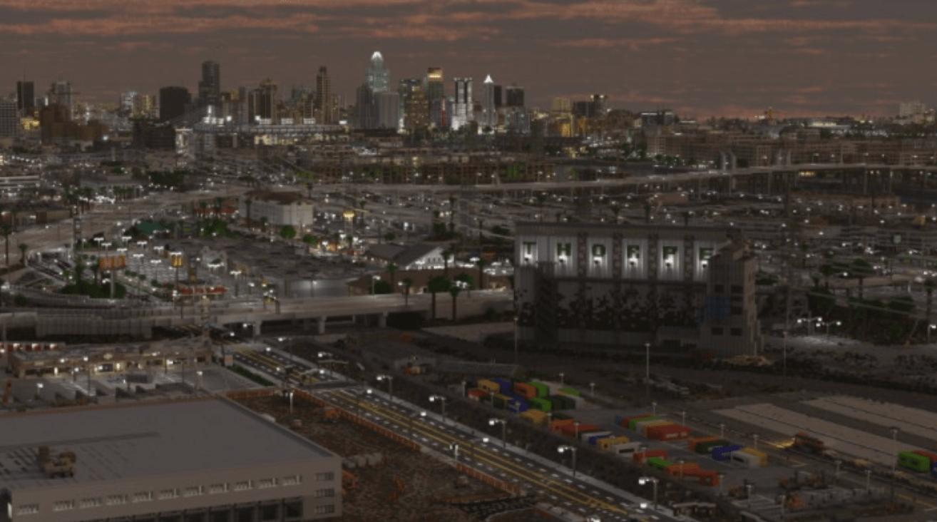 Пользователи Reddit несмогли отличить построенный вMinecraft город отнастоящего мегаполиса