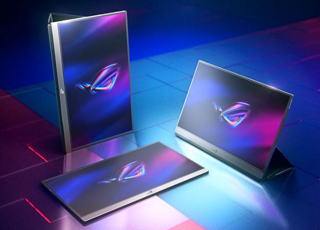 Asus представила портативный геймерский дисплей ROG Strix XG17с частотой обновления 240Гц