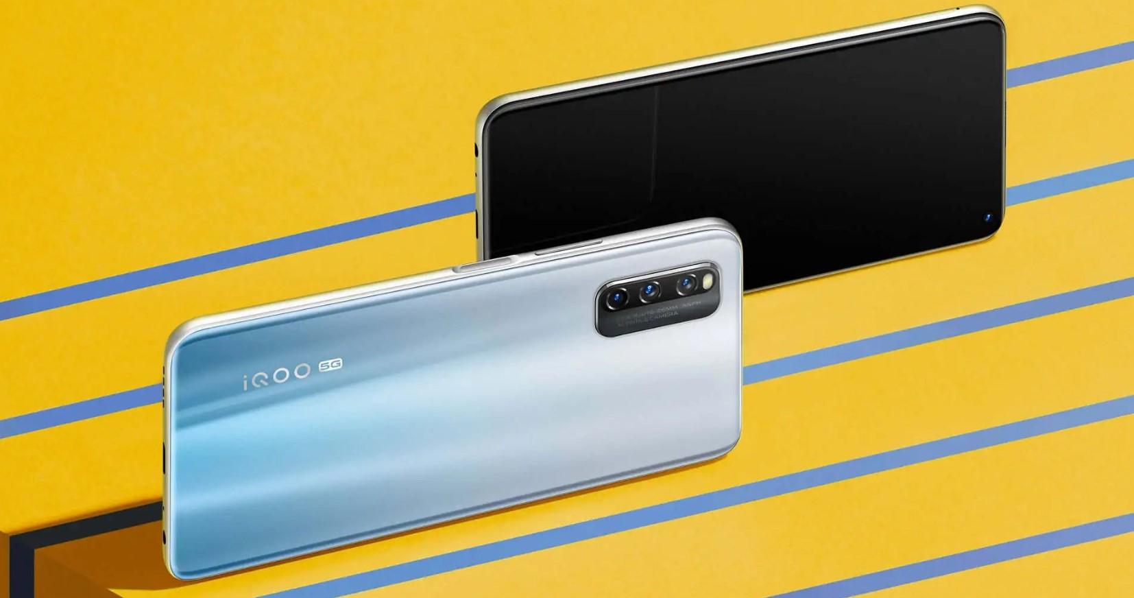 Геймерский смартфон iQOO Z1x получит экран на120 Гц