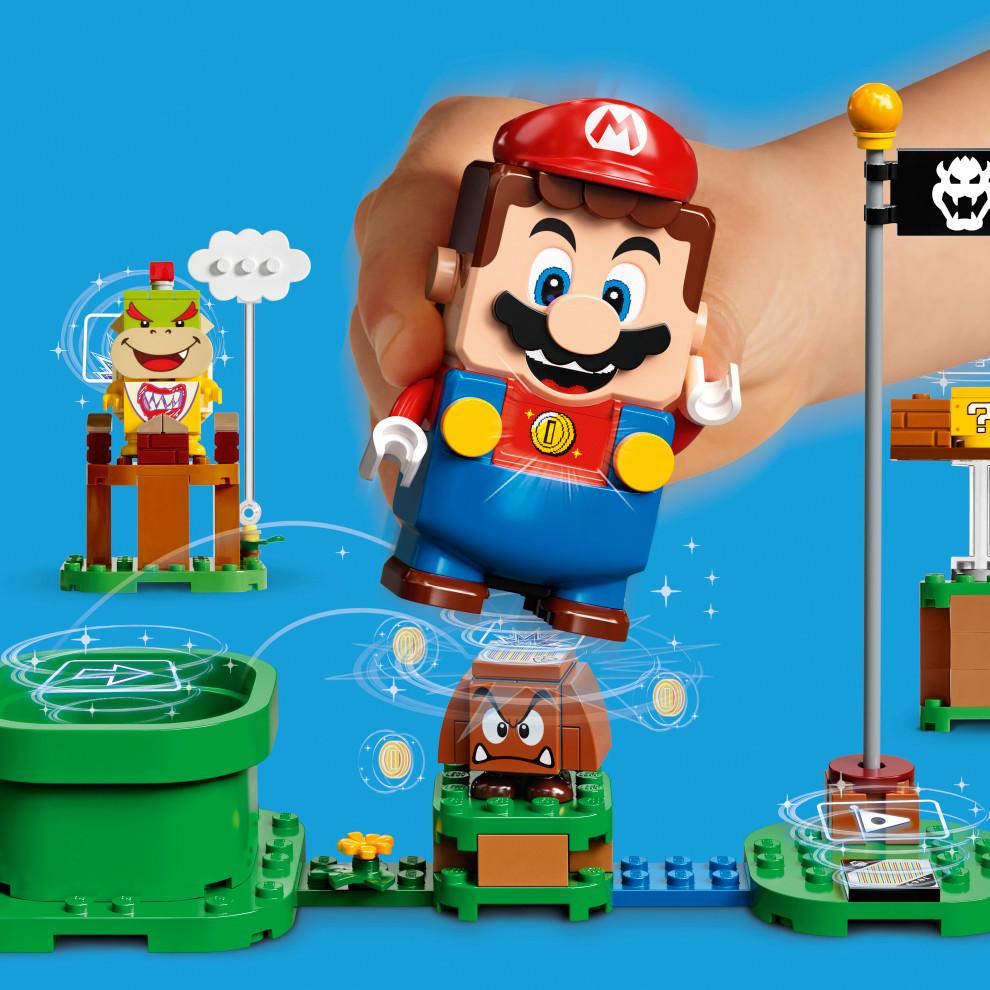 Теперь официально: набор LEGO Super Mario выйдет вэтом году