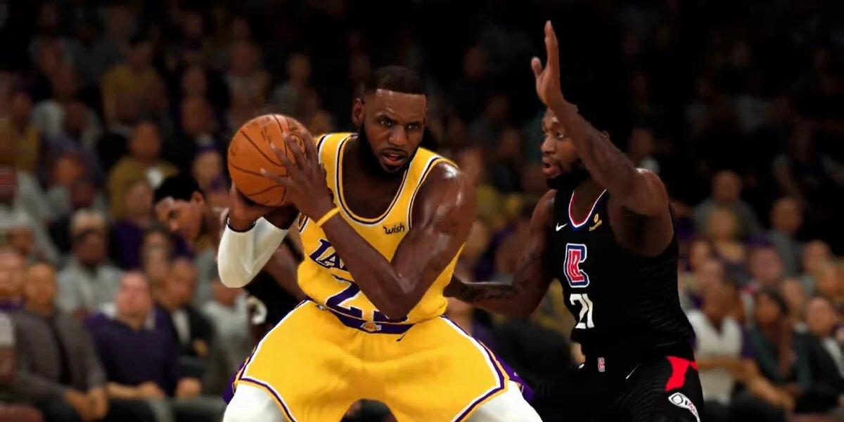 В NBA 2K21 добавили рекламу, которую нельзя пропустить