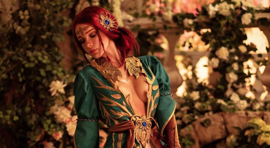 Россиянка косплеит Трисс из«Ведьмака»: образ слишком горяч, даже для Геральта