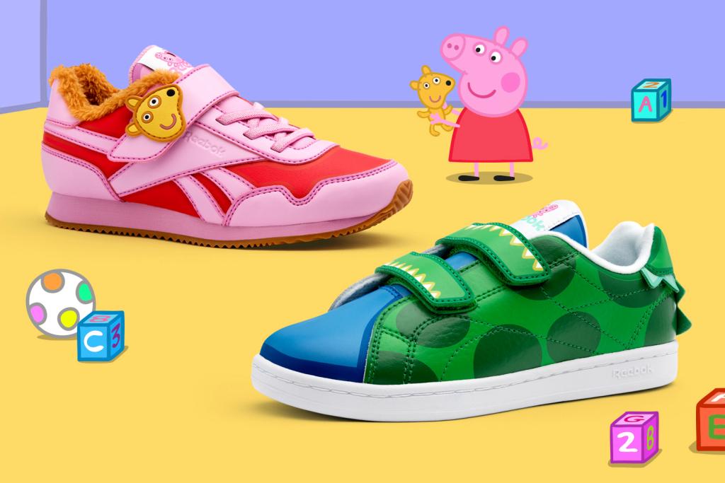 Reebok выпустил кроссовки в коллаборации со «Свинкой Пеппой»