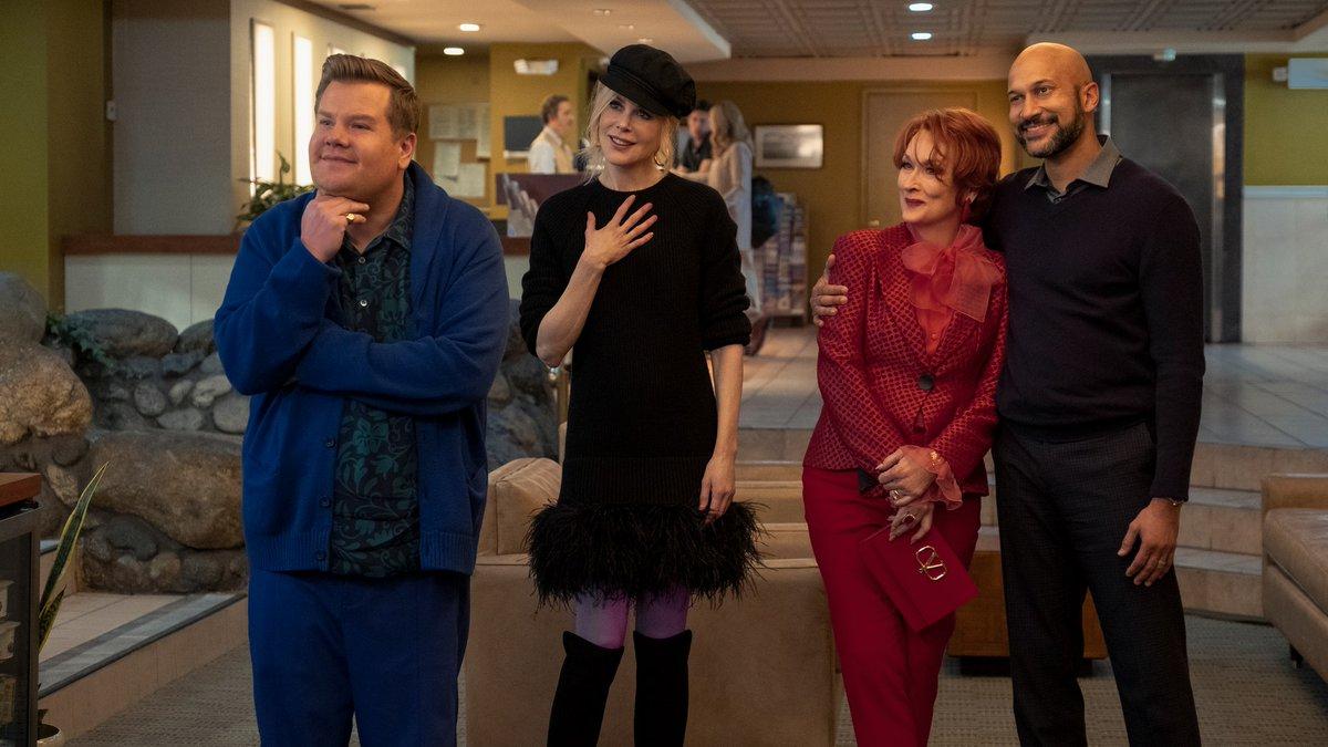 Мэрил Стрип иНиколь Кидман спасают праздник впервом трейлере мюзикла «Выпускной»