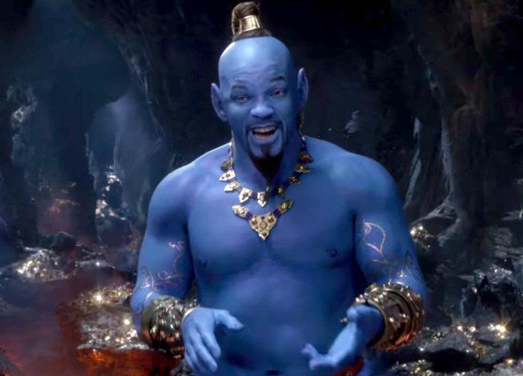 Ужаснитесь при виде голубого Уилла Смита вроли Джинна вновом тизере «Аладдина» Гая Ричи