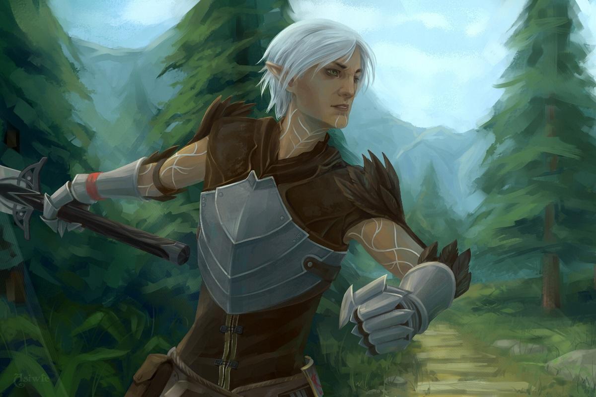 Новый комикс вовселенной Dragon Age расскажет оФенрисе. Связь счетвертой частью?