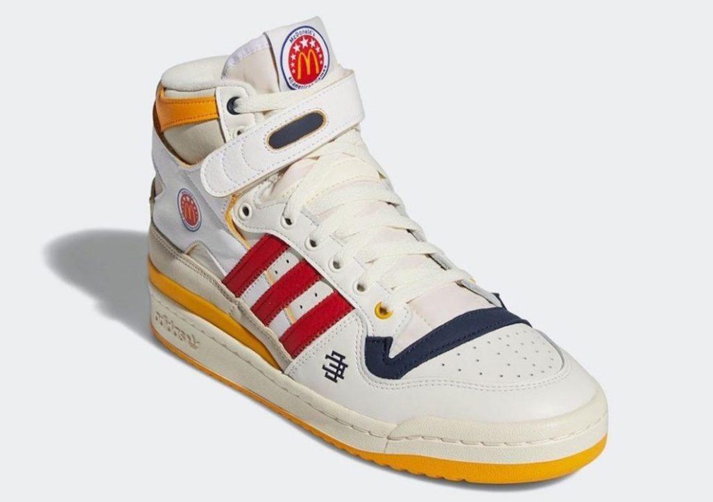 Adidas выпустит две пары кроссовок с логотипом McDonald's