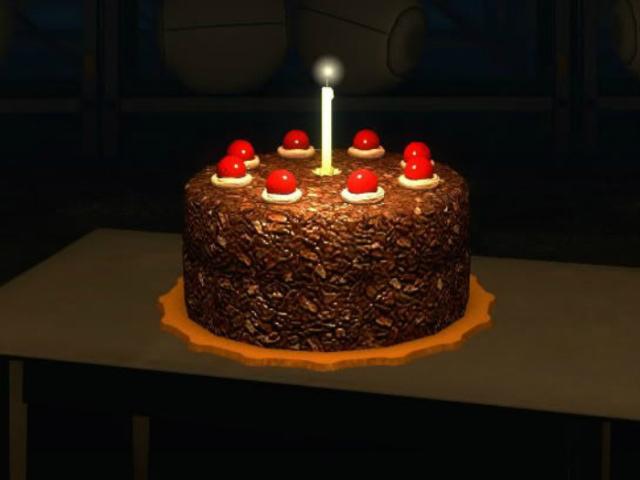 Приложение «Сбермаркет» использует изображение мемного торта изPortal