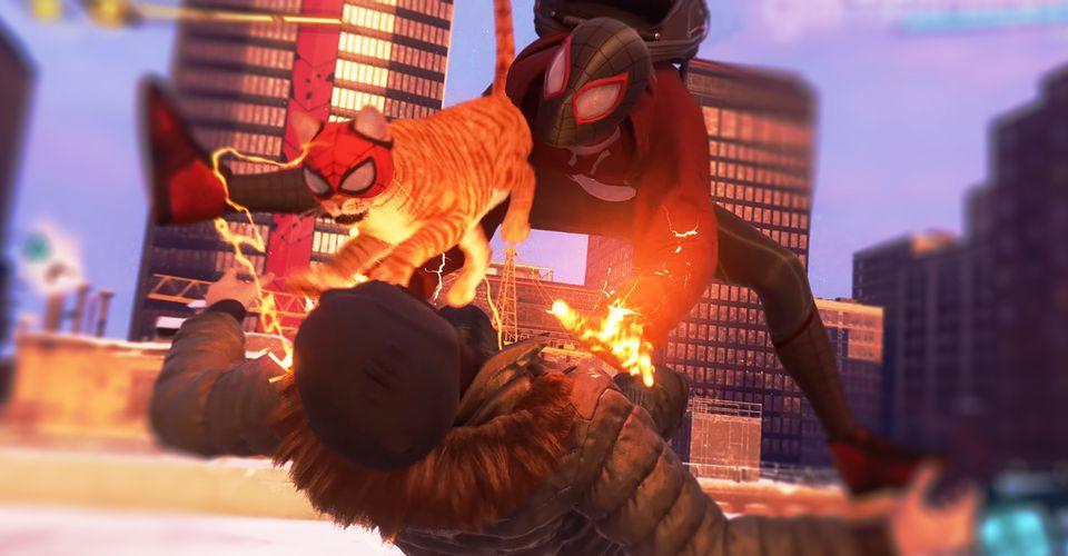 Вновом геймплейном видео Spider-Man: Miles Morales показали кота-паука