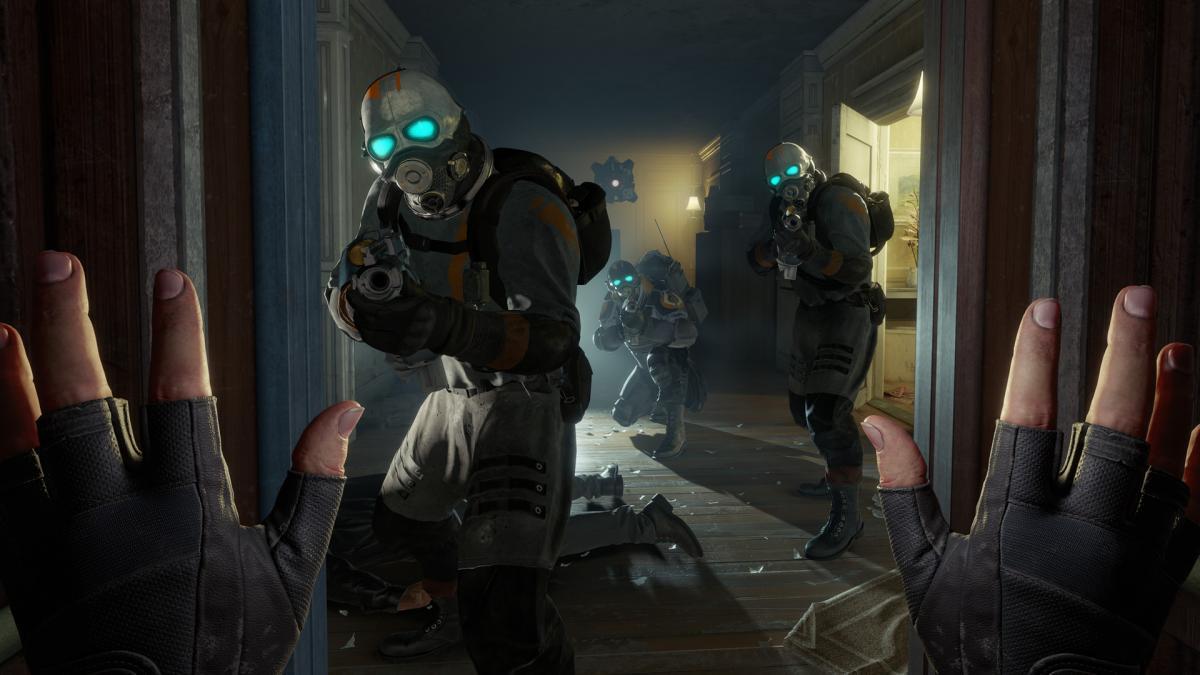 Half-Life: Alyx на клавиатуре и мышке - это новый мод, который заставит попотеть