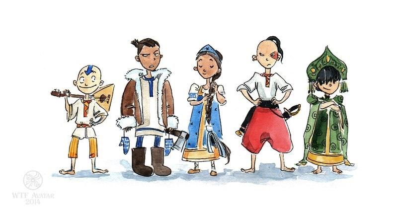 Русские, беларусы, татары, якуты идругие народы СНГ вобразе магов из«Аватара». Это новый флешмоб