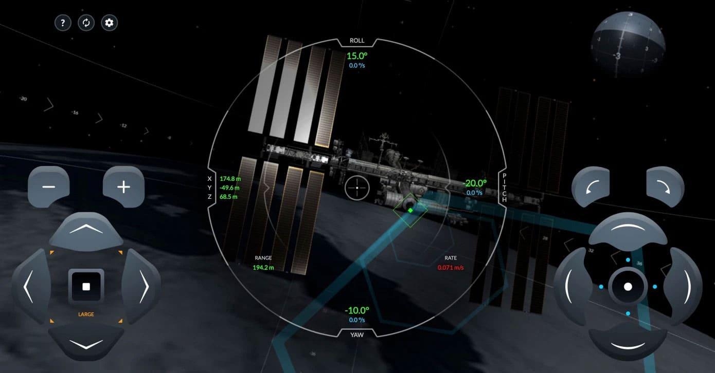 SpaceX выпустила симулятор стыковки корабля Crew Dragon сМКС