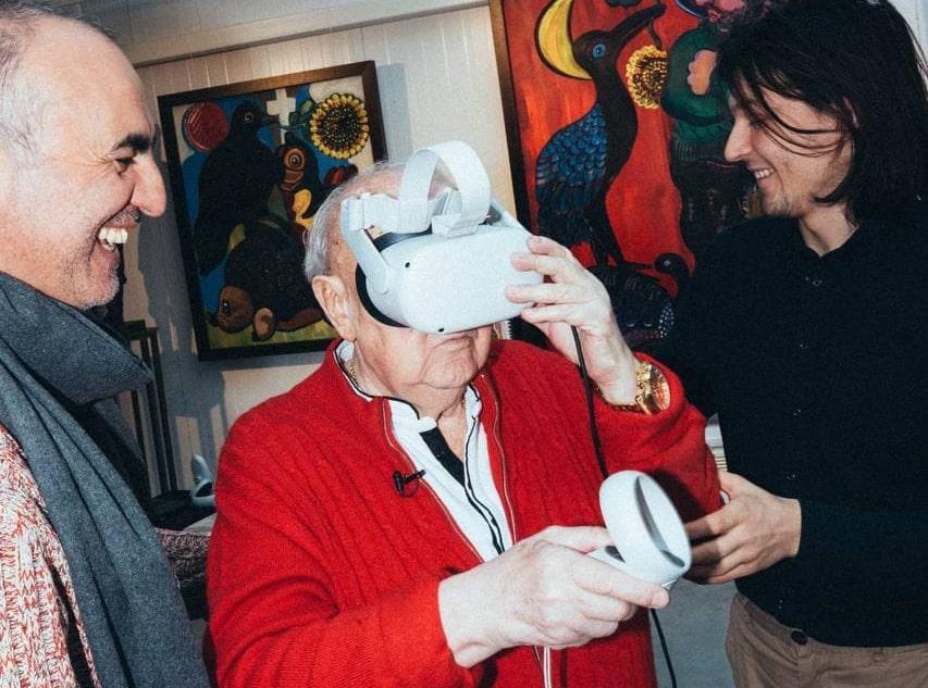 Зураб Церетели создал рог для вина для конкурса Indie Cup