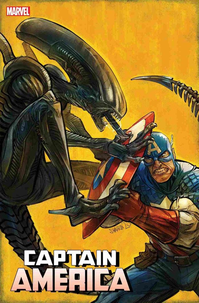 Вышли обложки кроссовера «Marvel против Чужого»