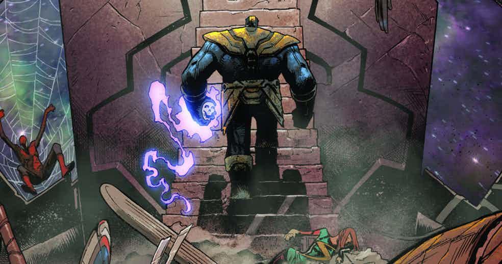 Что будет совселенной Marvel, если Танос победит всех своих врагов?